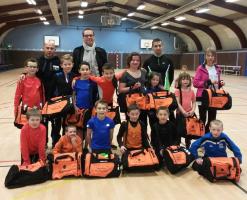 05/01/2014 – Équipement des enfants du club