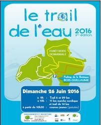 Trail de l'Eau @ Mont Saint Aignan