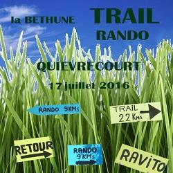 17/07/2016 – Rando – Trail de la Béthune (maj photos)