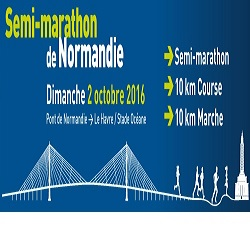 02/10/2016 - Semi - marathon de Normandie @ Pont de Normandie - Le Havre (76)