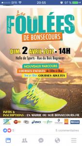 02/04/2017 - Foulées de Bonsecours @ Bonsecours (76)