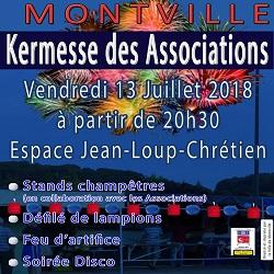 13/07/2018 – Kermesse des associations