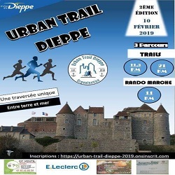 10/02/2019 - Urban Trail de Dieppes @ Dieppe