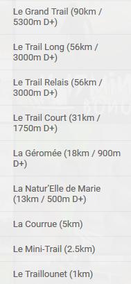 15-16/06/2019 - Trail de la Vallée des Lacs @ Gérardmer (88)