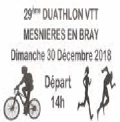 30/12/2018 – Duathlon de Mesnières en Bray