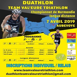 07/04/2019 – Duathlon d'Aubevoye