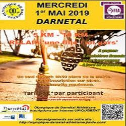 01/05/2019 – 5 km, 10 km et relais «une fille-un gars» de Darnétal