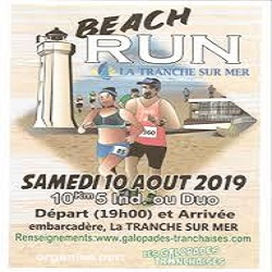 10/08/2019 – Beach Run Tranchaise
