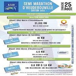 25/08/2019 – Semi-marathon d'Heudebouville