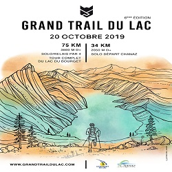 20/10/2019 – Grand Trail du Lac