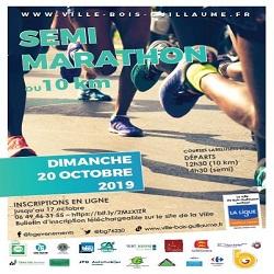 20/10/2019 – 10 km et semi-marathon de Bois-Guillaume