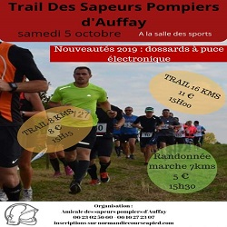 05/10/2019 – Trail des Pompiers d'AUFFAY