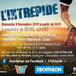 03/11/2019 – Trail l'Intrépide