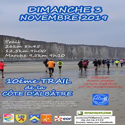 03/11/2019 – Trail de la Côte d'Albatre