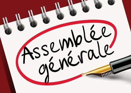 Assemblée générale du 18/09/2020
