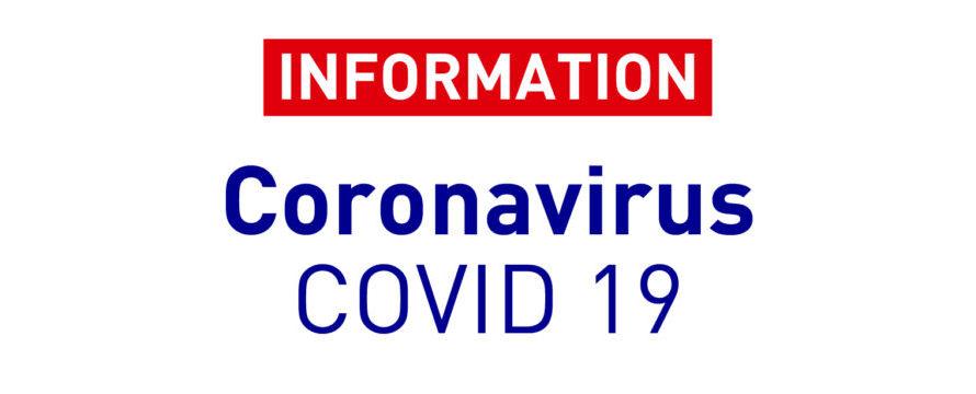 MAJ 29/10 – Info Covid 19 – Interruption des entrainements